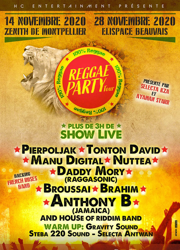 REGGAE PARTY TOUR