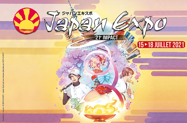 JAPAN EXPO - FORFAIT 4 JOURS