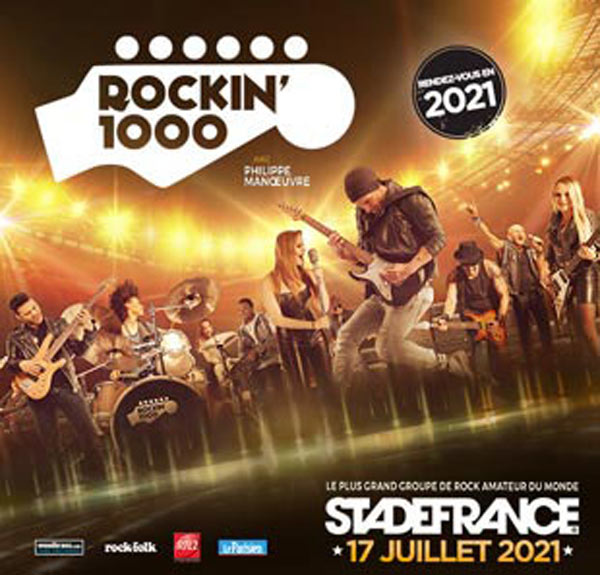 ROCKIN'1000: BUS REIMS + CARRE OR