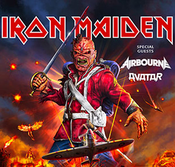 IRON MAIDEN: BUS MACON + CARRE OR
